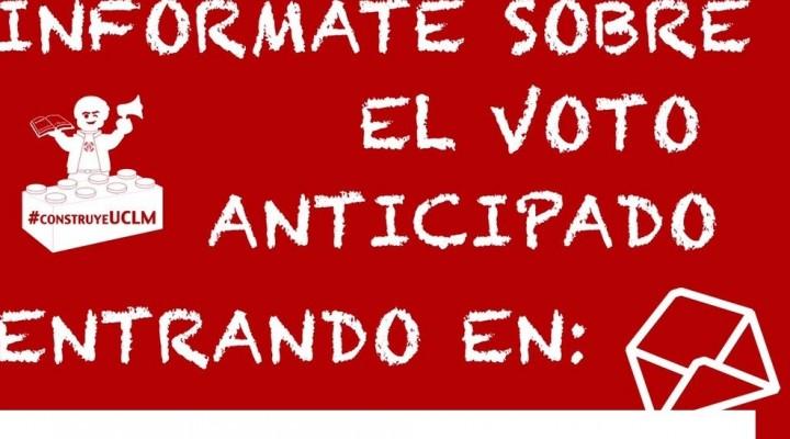 Propuesta de reforma democrática; el voto anticipado.
