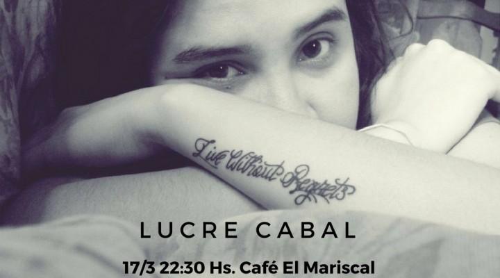 Lucrecabal en Café El Mariscal.