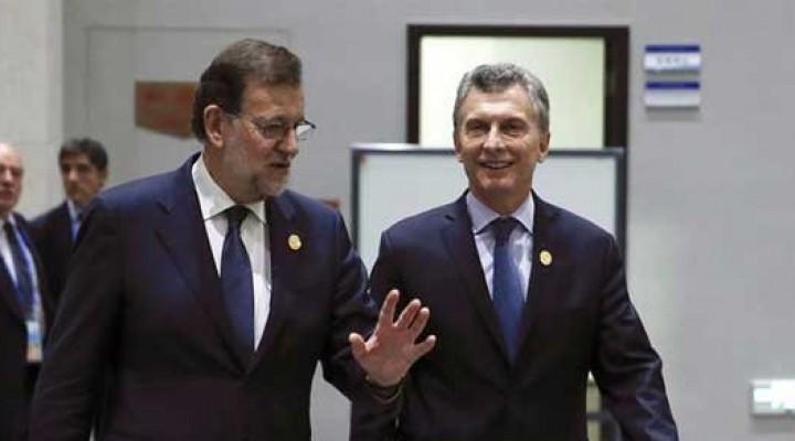 Macri y Rajoy en Buenos Aires.