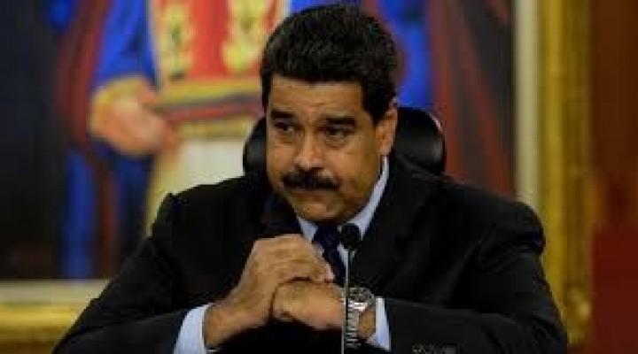 Ordenan detención contra Maduro.