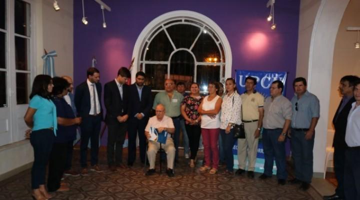 Homenaje al escritor Marcelo Fernández