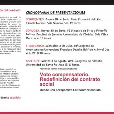 Se presenta el Voto Compensatorio en Corrientes