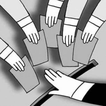 Partidos políticos como desgracia democrática.