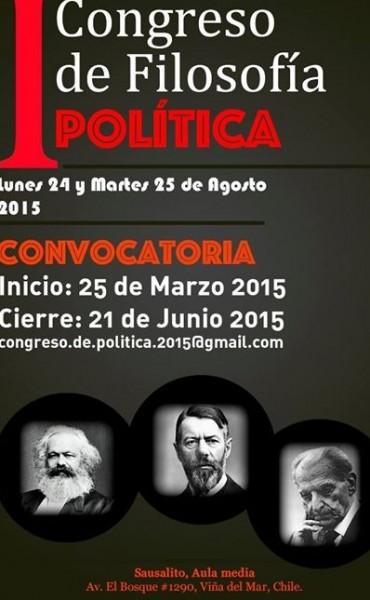 Nuevo Congreso Internacional de Filosofía (Chile) acepta texto del Correntino Francisco Tomás González Cabañas