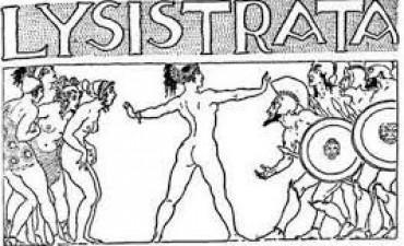 Huelga Sexual con perspectiva de Género. El macho emulando a Lisístrata.