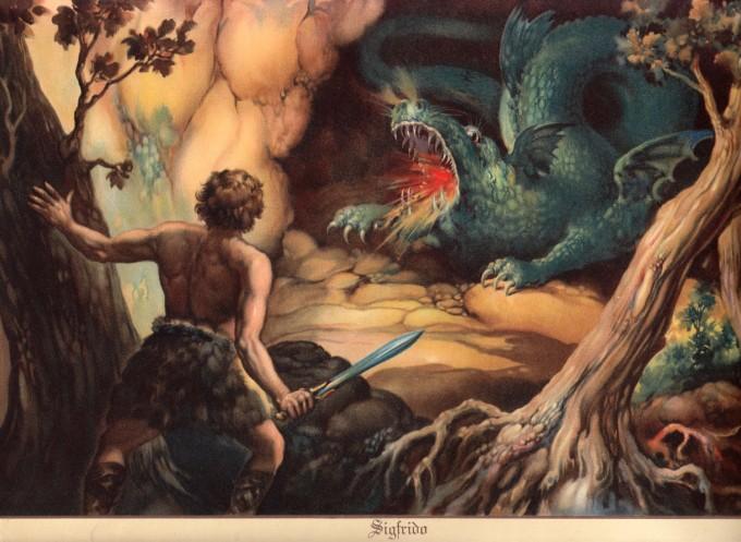 El tesoro de los Nibelungos.