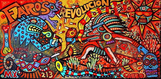 La revolución en marcha.