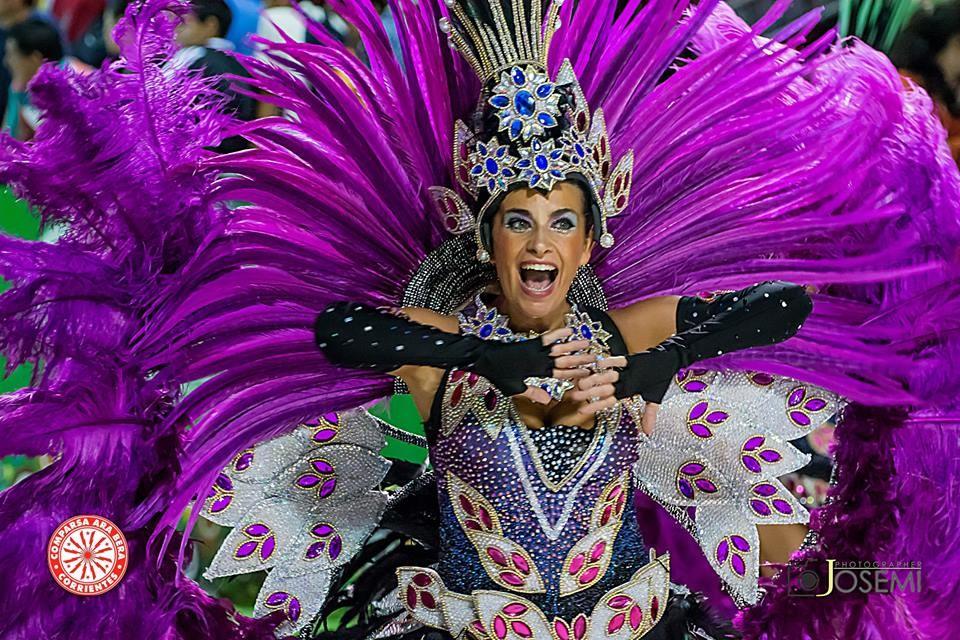 La pasión del carnaval correntino.