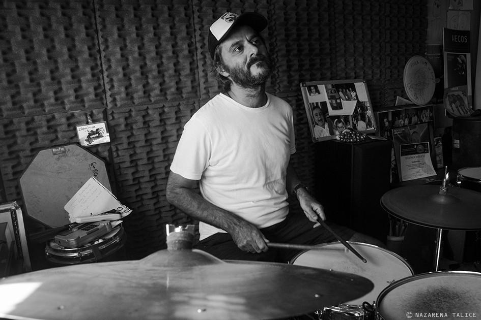 Mano a mano con Pipi Piazzolla, el baterista del planeta jazz.