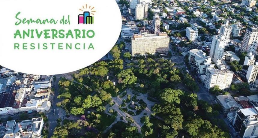 La ciudad de Resistencia festeja su 142° Aniversario