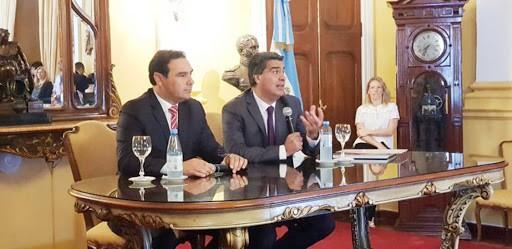 Váldés y Capitanich, reunión estratégica para el desarrollo de Corrientes y Chaco