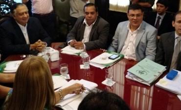 """El Diputado Parodi participó de la reunión por el tema """"Agua Potable"""""""