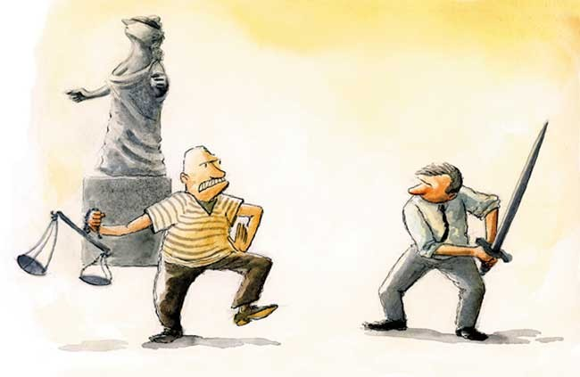 No democrático, faccioso, impopular e incuestionable: El poder judicial.