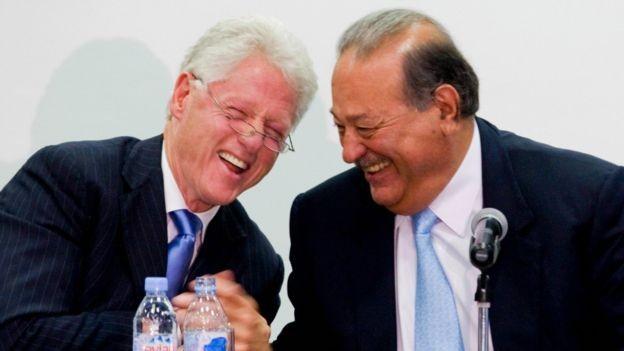 Carlos Slim, Presidente de México.