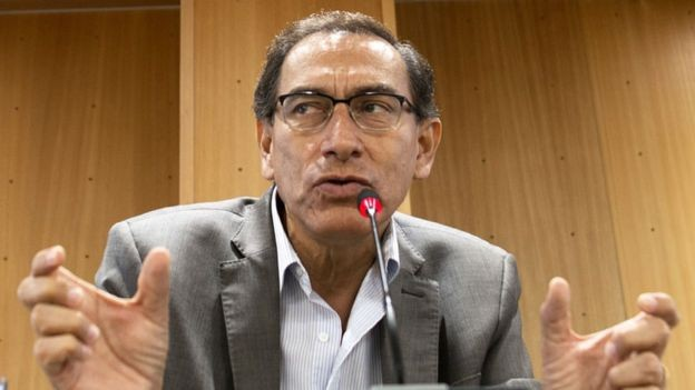 Quién es Martín Vizcarra, el llamado a ser el nuevo presidente de Perú.