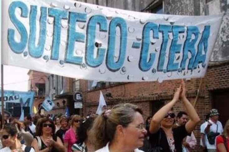Sigue el escándalo. Suteco prepara una protesta frente al Ministerio de Educación.