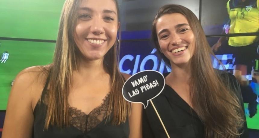8M: Primera transmisión de fútbol de la TV nacional conducida por mujeres