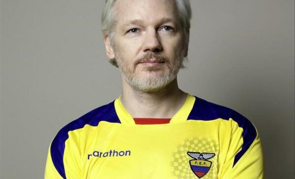 Los fans de Julian Assange, fundador de WikiLeaks.