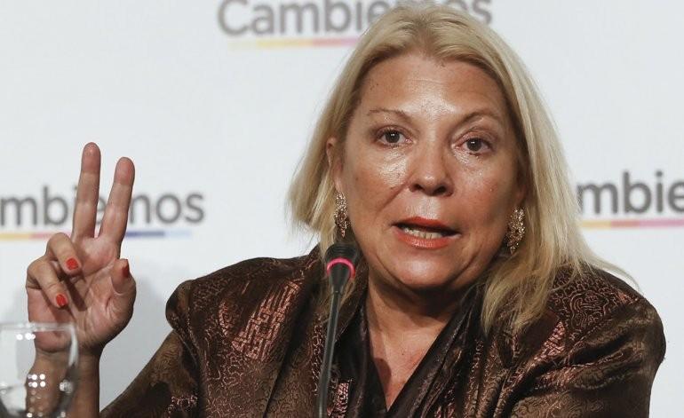 Carrió admitió después del escándalo: el canje de pasajes