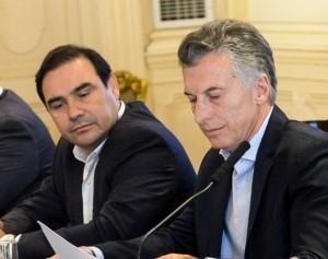 Macri se reúne con Gustavo Valdés.