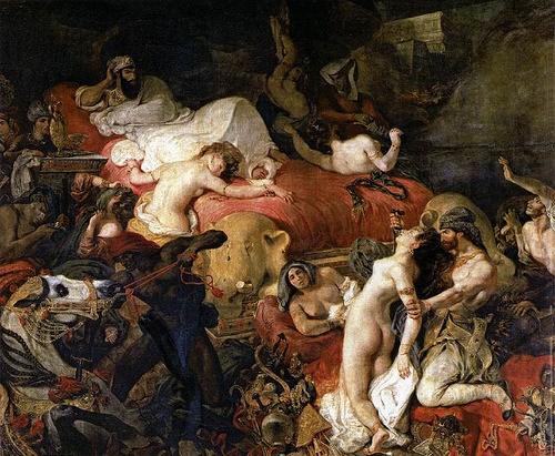 La resurrección de Sardanápolo.