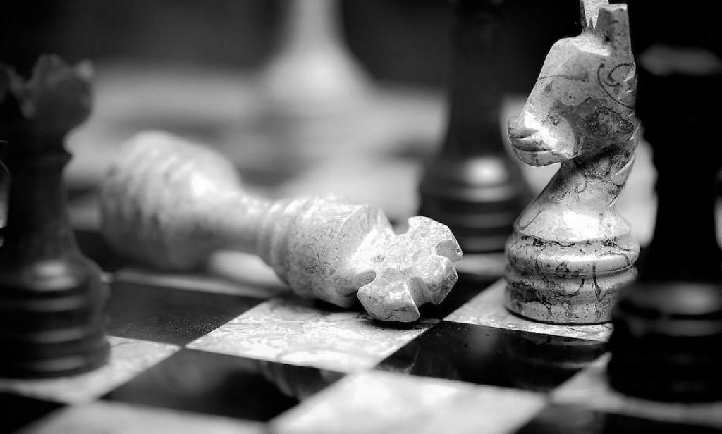 Nuestra partida de ajedrez.