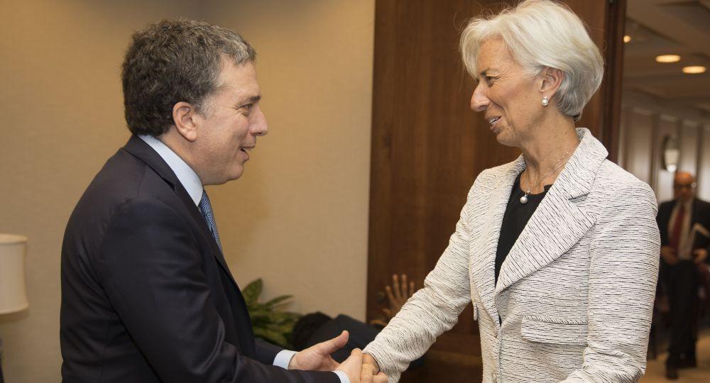 Dujovne y Lagarde coincidieron en lograr un rápido acuerdo para crédito del FMI