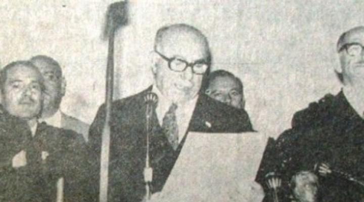 """Proyecto de ley para erigir busto en memoria de """"Julio Romero"""" en salón amarillo de casa de gobierno."""