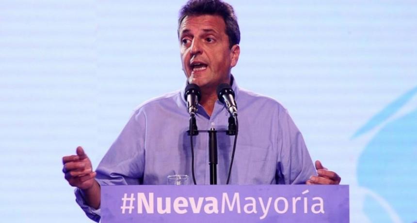 Frente Renovador: Massa fue habilitado para negociar con Alberto Fernández