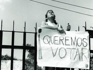 El pavor al voto del ciudadano o la ficción del político.