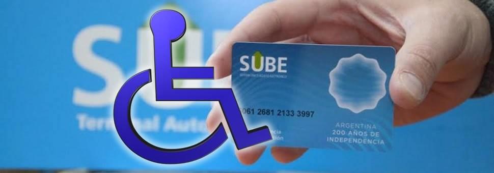 Hoy reiniciará el recambio de tarjetas SUBE Discapacidad