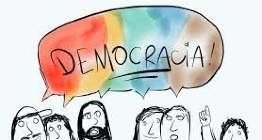 El dícese sobre la democracia.