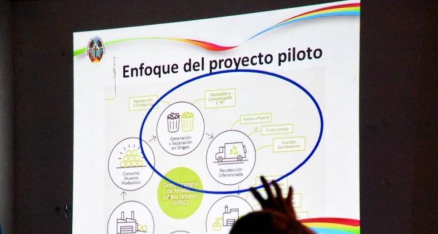Recolección diferenciada de residuos: comenzó el proyecto piloto: Reciclando Juntos