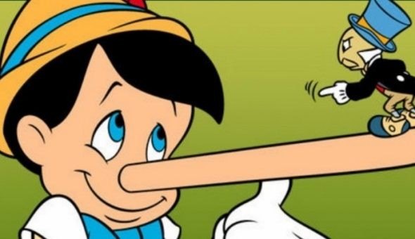 Pinocho mentía para hacerle más llevadero el trabajo a Gepeto.