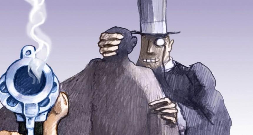 """La cuestión penal en distritos donde la """"pobreza golpea fuerte""""."""