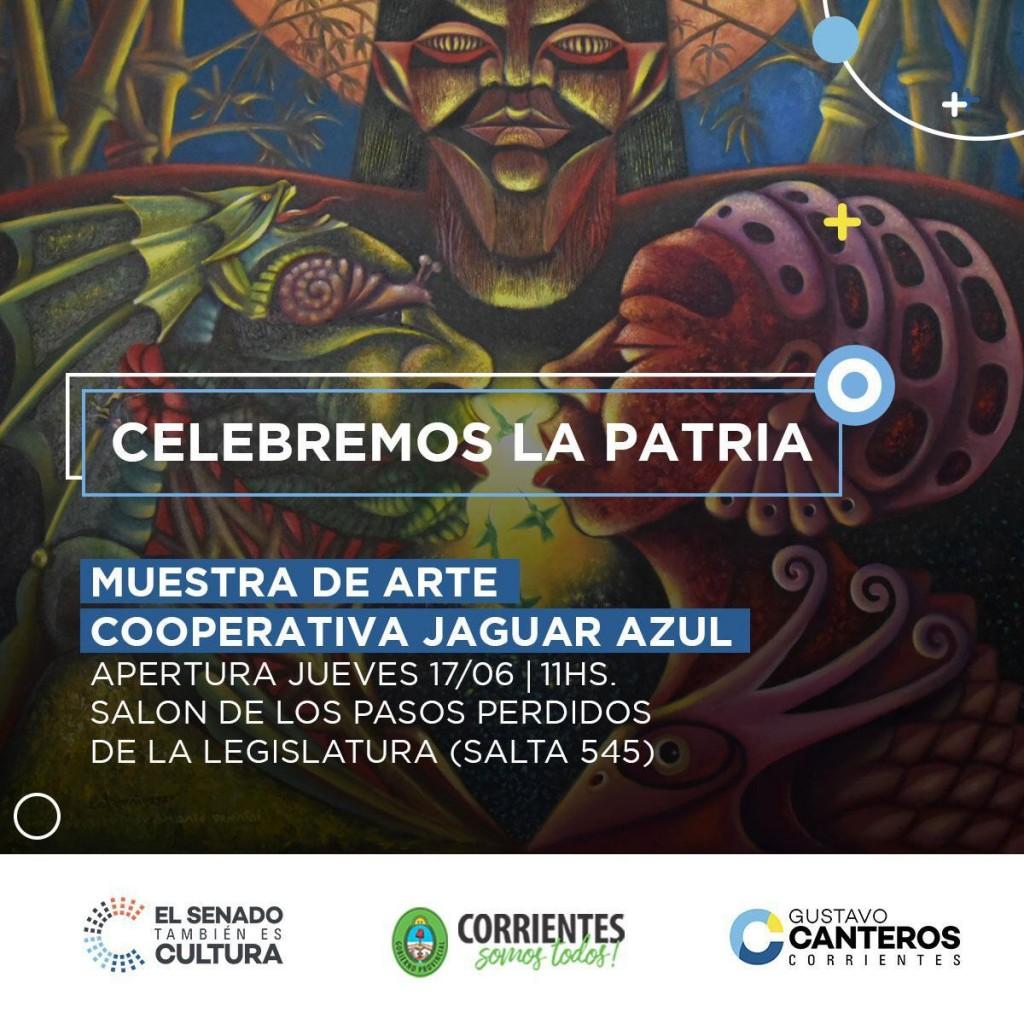 Gustavo Canteros invita a celebrar la patria.
