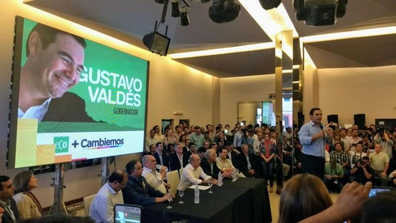 Te lo digo otra vez, el candidato es Gustavo Valdés.