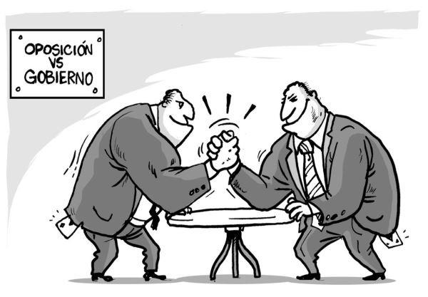 De las oposiciones políticas o del principal problema de las democracias actuales.