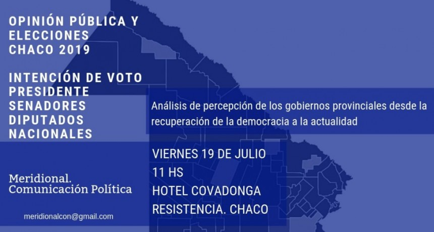 Resultado de encuesta PASO Chaco.