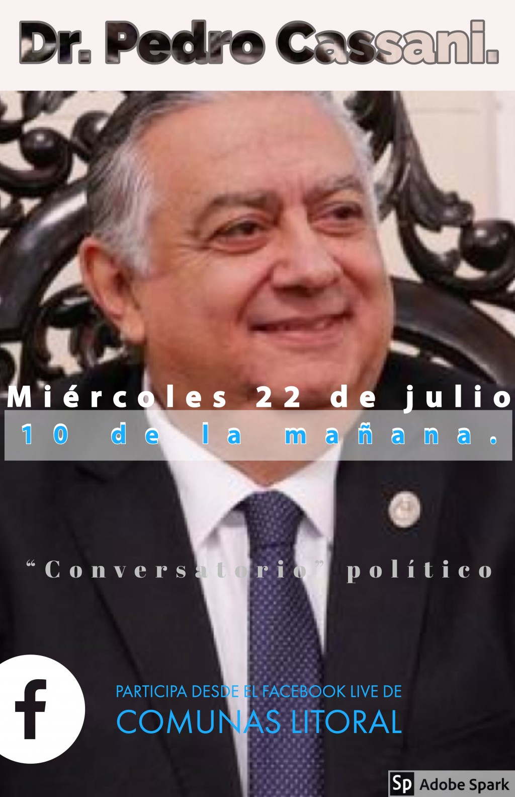 """""""Conversatorio"""" con el presidente de la cámara de Diputados de Corrientes. Dr. Pedro Cassani."""