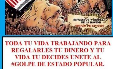 """Convocan a un """"Golpe de Estado Popular"""", en México."""