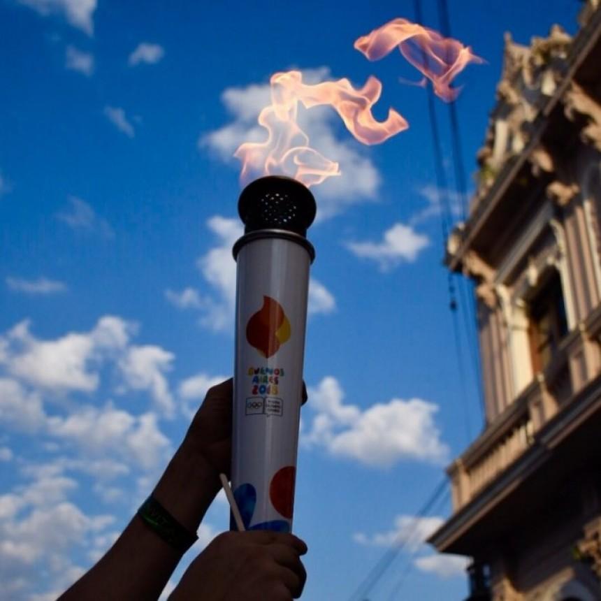 La antorcha olímpica pasó por Corrientes
