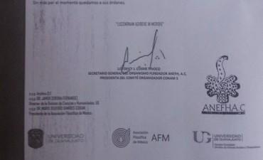 12º Congreso de Filosofía que acepta Ponencia del Filósofo Correntino Francisco González Cabaña