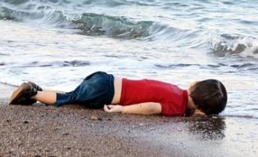 El falso profeta, Aylan Kurdi en un cielo sin sol.