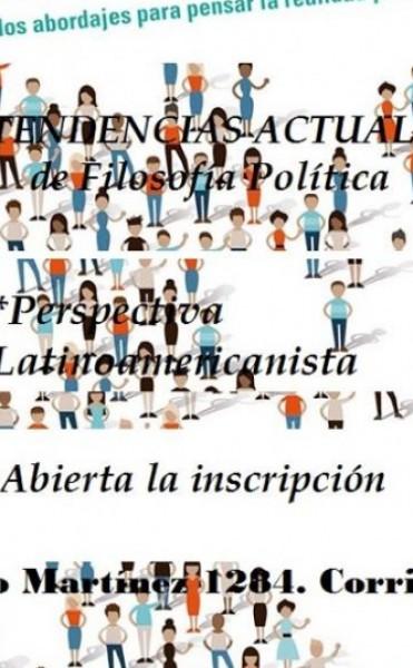 """Seminario-Taller de filosofía política """"Tendencias actuales y perspectivas latinoamericanistas"""""""