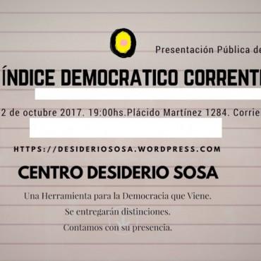 El número de la democracia; el índice democrático que le pondrá fin a la incertidumbre democrática.