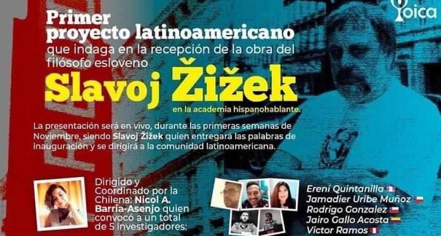 Slavoj Žižek en Latinoamérica