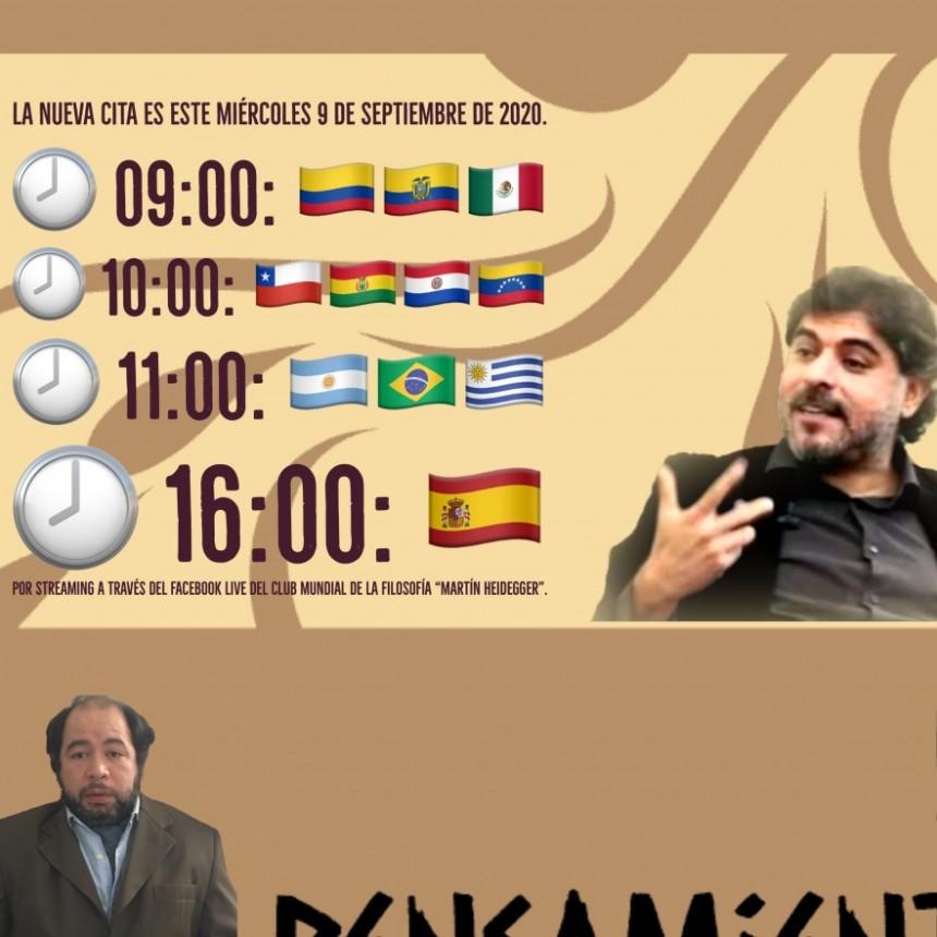 """""""Conversatorio"""" con el filósofo Ricardo Espinoza Lolas."""