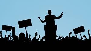 """El """"Candidato"""" político y su relación con la ciudadanía o el electorado."""