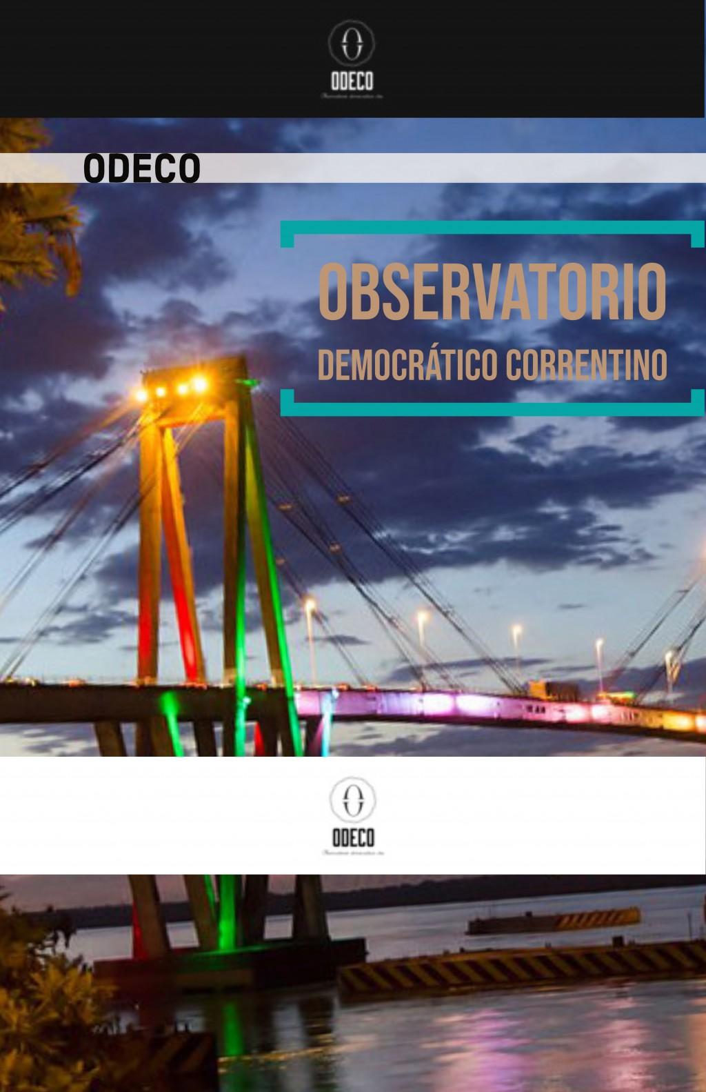 ODECO. Observatorio Democrático Correntino.